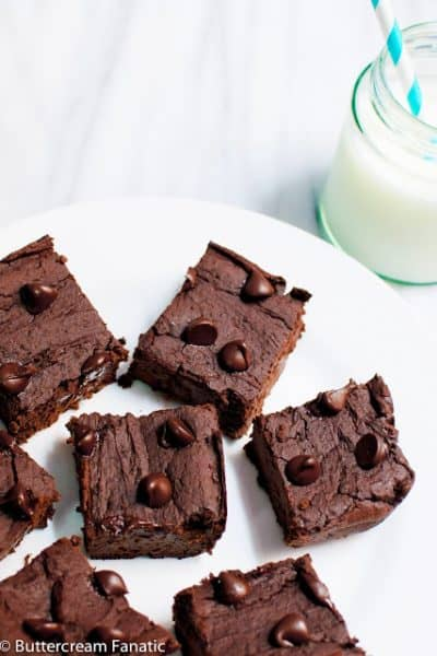 Flourless Double Chocolate Brownies (gluten free)