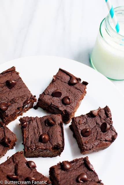 Gluten-Free-Double-Chocolate-Flourless-Brownies