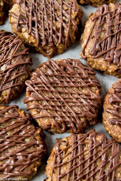 Four Ingredient Power Cookies (Gluten Free and Whole Grain)