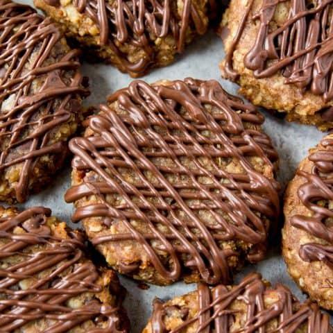 Four Ingredient Power Cookies