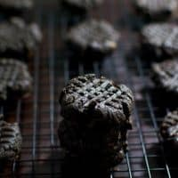 Midnight Chocolate Peanut Butter Cookies