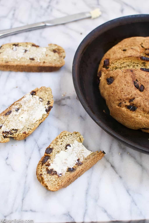 Gluten Free Irish Soda Bread (gluten free and whole grain)