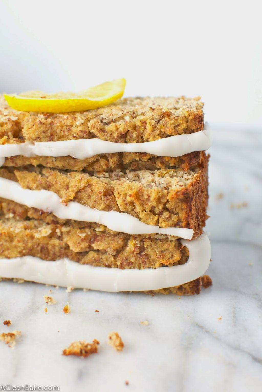 Grain-free Lemon Pound Cake (Vegan Adaptable)