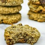 Gluten Free and Whole Grain Coconut Cherry Breakfast Cookies