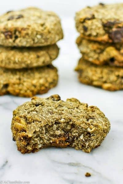 Coconut Cherry Breakfast Cookies (gluten free, whole grain, vegan)