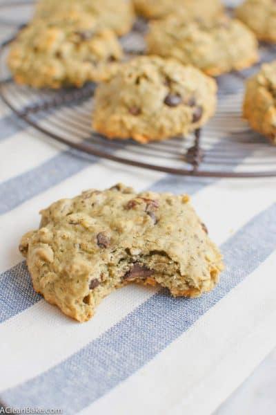 Oatmeal Raisin Chocolate Chip Walnut Cookies (Gluten free and whole grain)