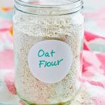 How To Make Your Own Oat Flour1