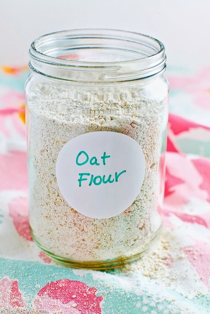Making your own oat flour at home is easy, and a huge cost savings!