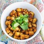 Vegan 5-Ingredient Baked Tofu