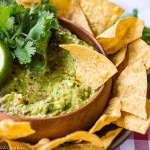 Guacamole Made In the Food Processor