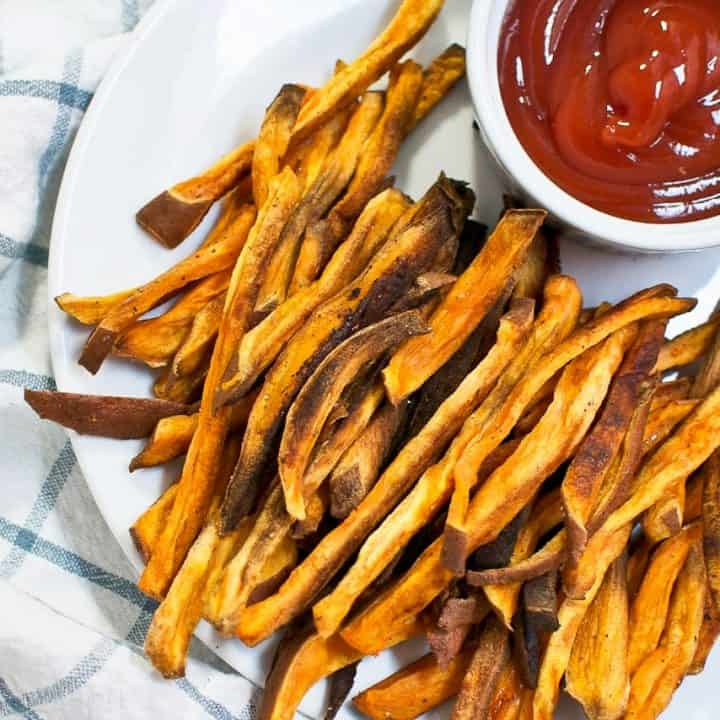 Thin-Cut (Baked) Sweet Potato Fries