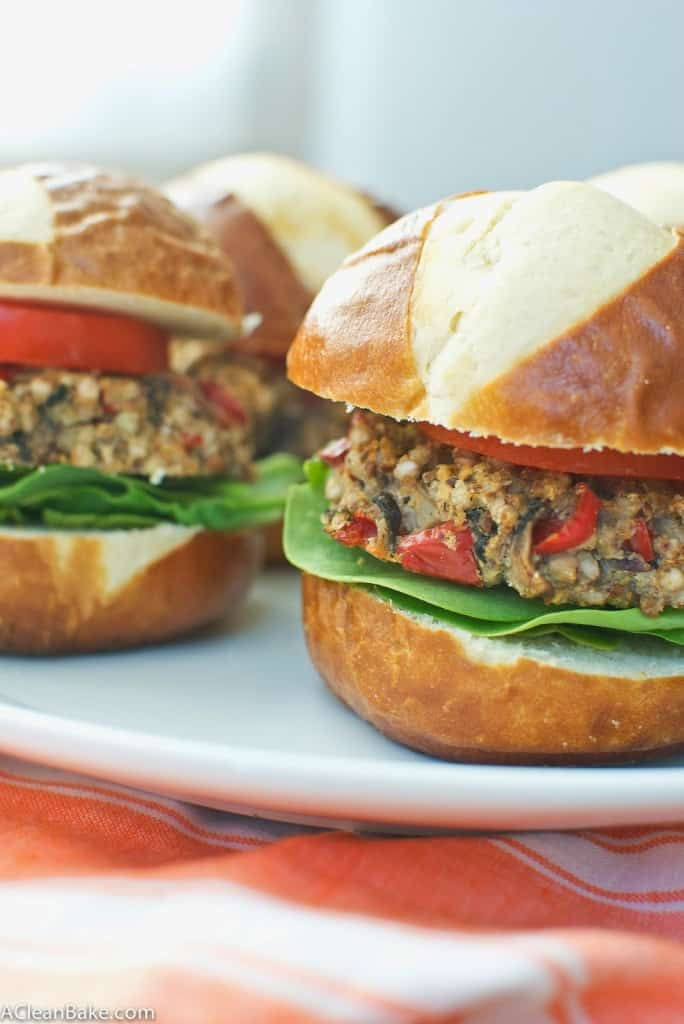 Grain Free Paleo Veggie Burgers