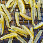 How To: Make Candied Lemon Peels (and Lemon Simple Syrup)