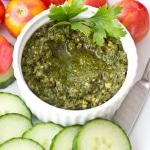 Creamy Vegan Kale Pesto (Raw, Dairy-Free)