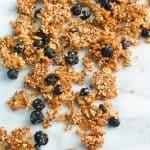 Blueberry Chia Quinoa Granola