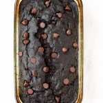 Gluten Free Double Chocolate Zucchini Bread. What a great way to use up all of the zucchini from the garden!