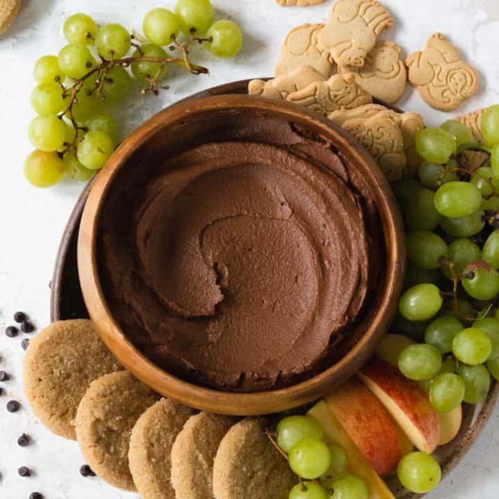 Chocolate Brownie Dessert Hummus (The Original!)