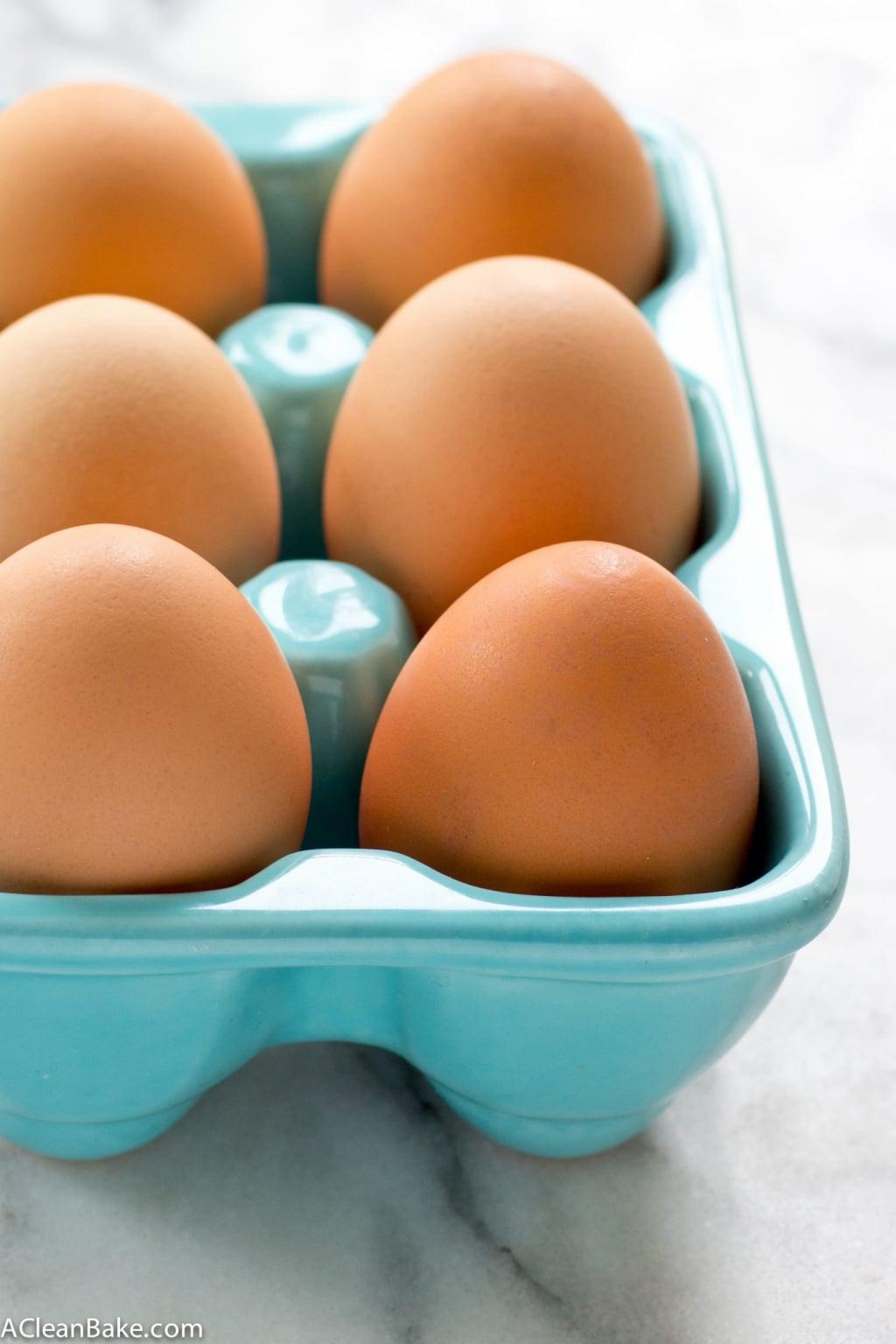 Ovenbaked Hard Boiled Eggs