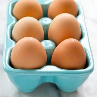 Oven-Baked Hard Boiled Eggs