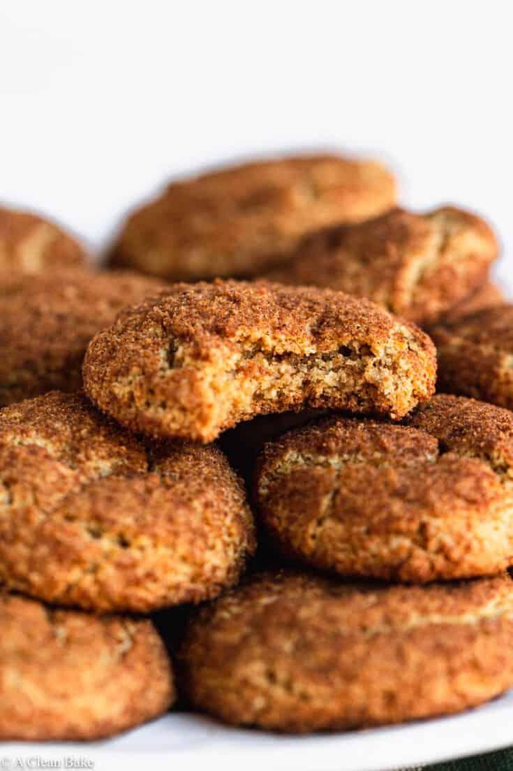 Grain Free & Gluten Free Snickerdoodles