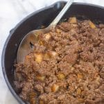 Grain-Free Skillet Apple Pear Crisp