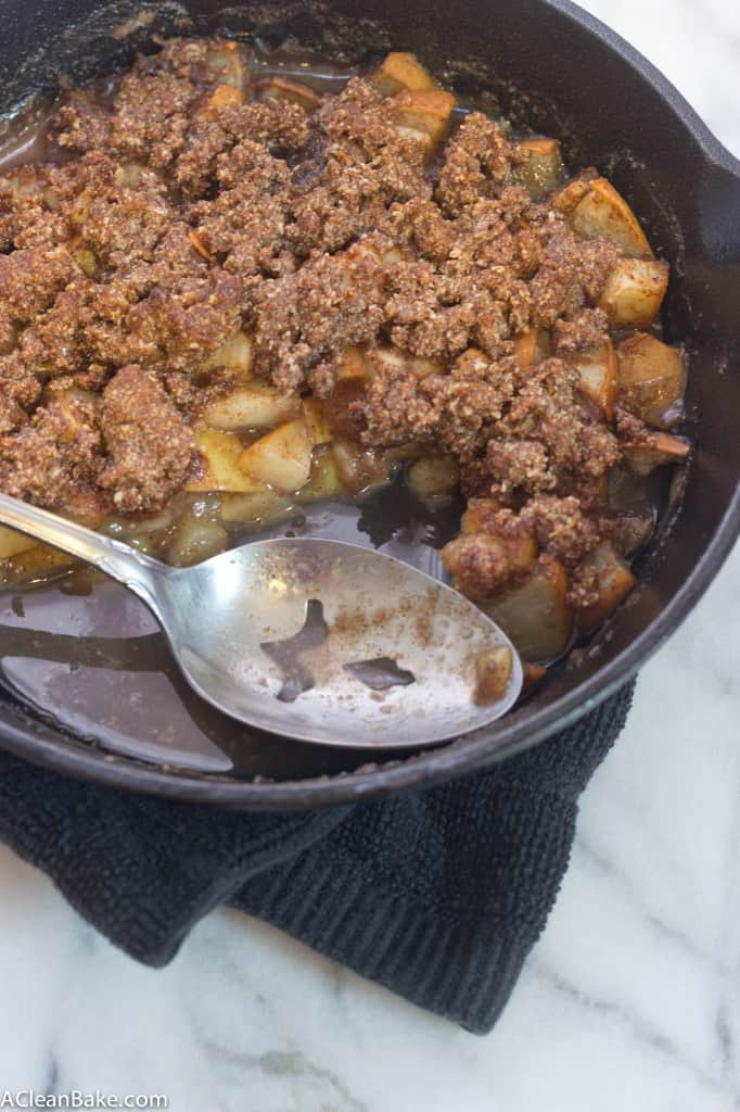 Grain-Free Apple Pear Crumble