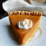 Paleo Pumpkin Pie from Acleanbake.com