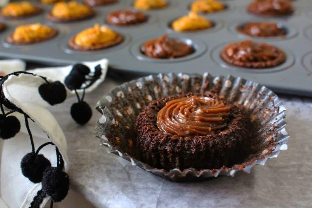 {Flourless} Mini Chocolate Cake Bites 012ge