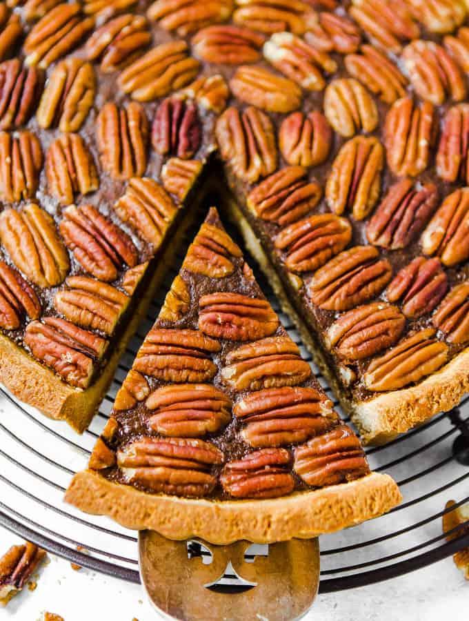 Paleo & Gluten Free Pecan Tart