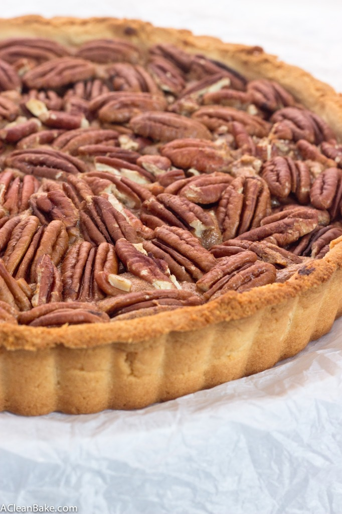 Grain-Free and Dairy-Free Pecan Tart