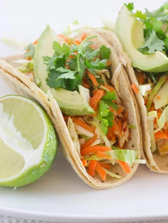 Lightened Up Fish Tacos + A Taste of Puerto Rico