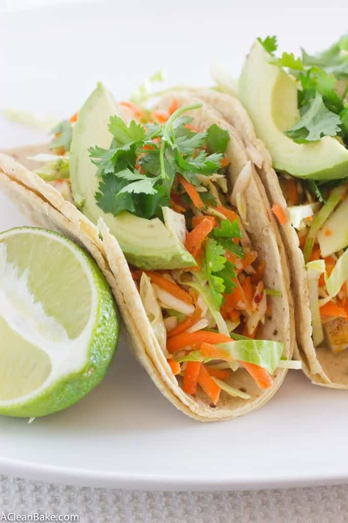 Lightened Up Fish Tacos