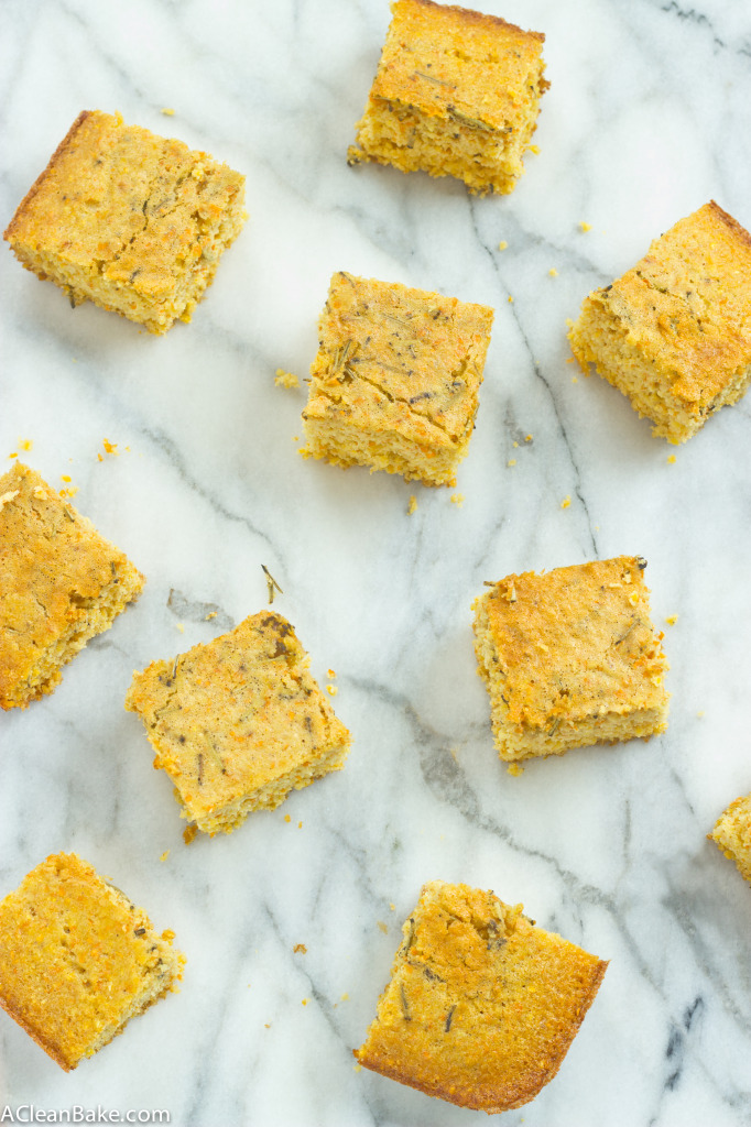 Gluten-Free Rosemary and Olive Oil Cornbread
