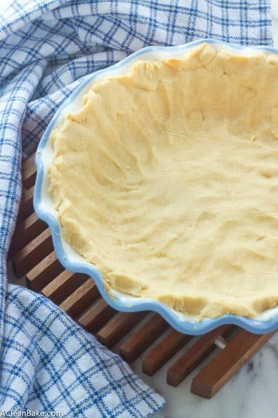 Paleo Pie Crust (Vegan Adaptable)