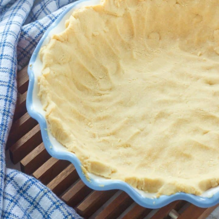 Paleo Pie Crust (Vegan Adaptable)