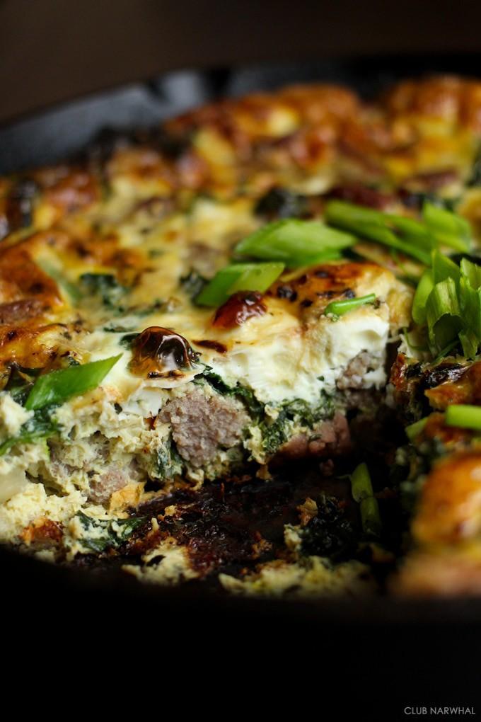 Paleo-Frittata-Italian-Sausage-Kale