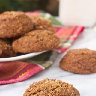 Grain free Paleo Gingerbread Cookies