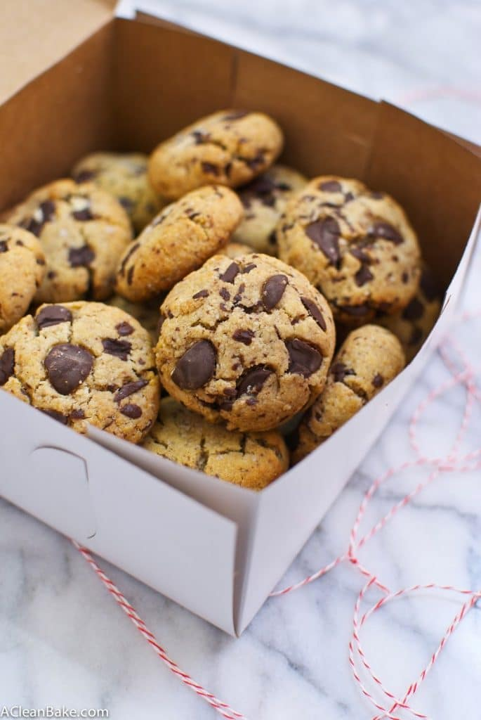 The BEST Grain Free Chocolate Chip Cookies