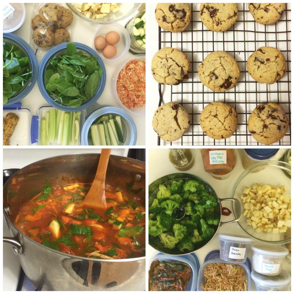 On Sunday Food Prep