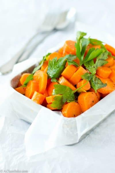 Easy Moroccan Spiced Carrots