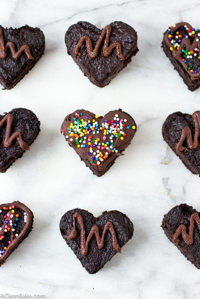 Super Fudgy Beet Brownies (Grain-Free, Sugar-Free)