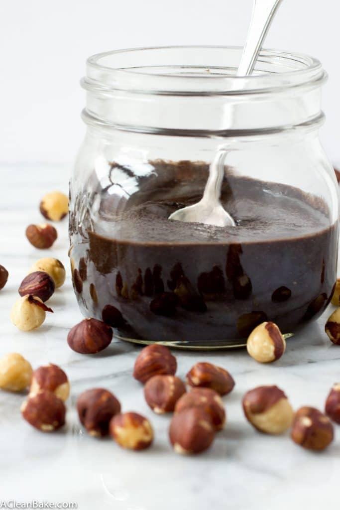 Homemade Sugar Free Chocolate Hazelnut Spread