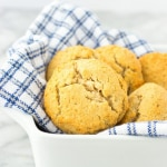 Simple Grain-Free Biscuits (gluten-free, Grain-free, Paleo, Sugar-free, low carb)