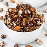 Spicy Chocolate Popcorn Snack Mix
