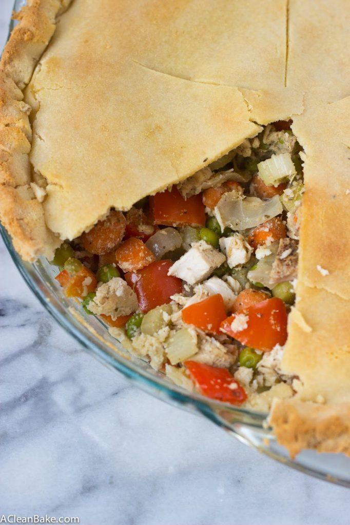 Grain-Free and Gluten-Free Chicken Pot Pie