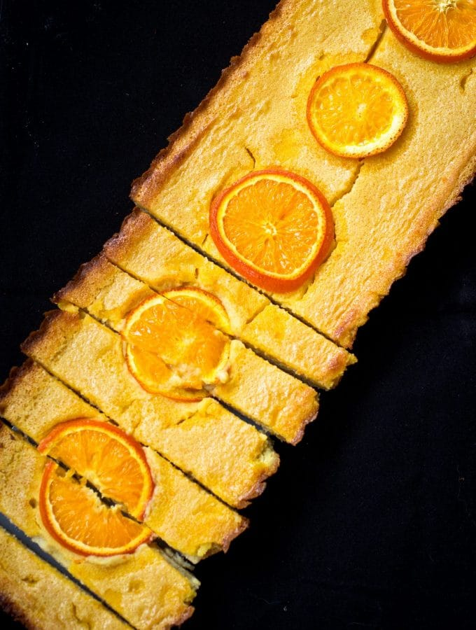 Grain-Free Tangerine Bars