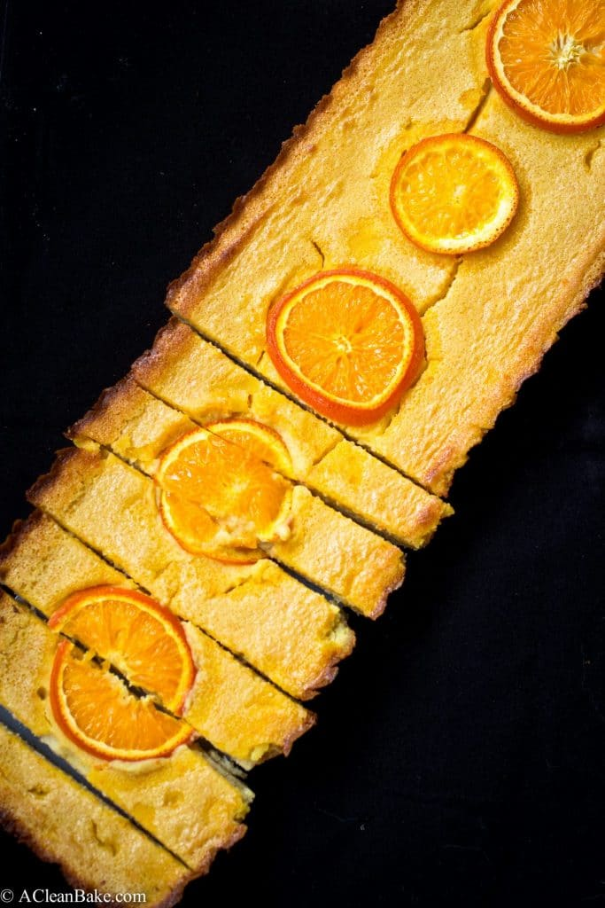 Grain-Free Tangerine Bars