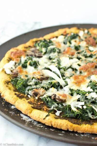 Thin Crust Pizza (Gluten Free and Paleo)