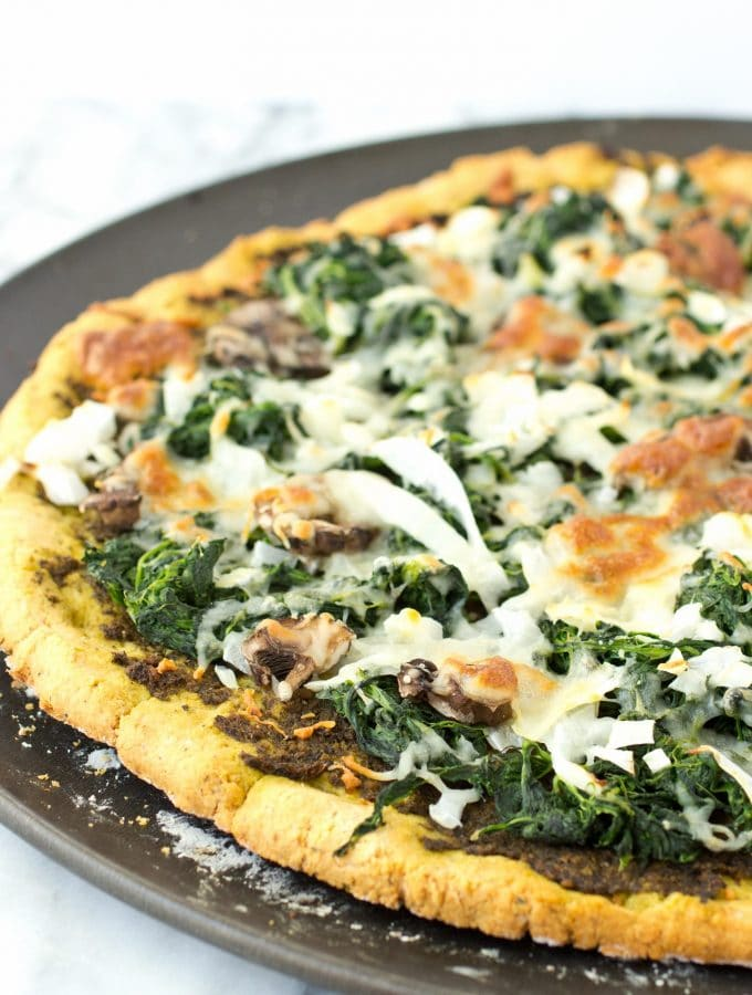 Grain Free Thin Crust Pizza