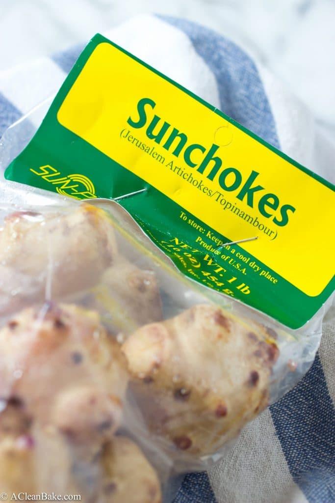 Roasted Sunchoke and Sage Dip (Gluten-Free, Paleo and Vegan)